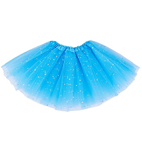 DoGeek Tutu Balletto Donna Gonna Layered Performance Dance per Le Donne Gonna Puffy Tutu One Size Fits all