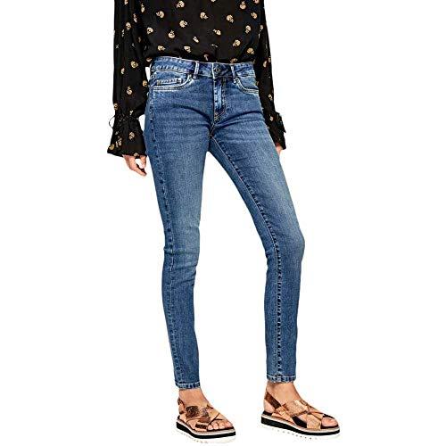 Pepe Jeans Damen Skinny Jeans Pepe Jeans, Blau (Medium Used 000), 30W / 30L