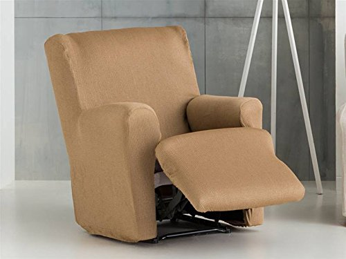Lanovenanube - Funda sillón Ulises Relax XL Pies Juntos Color Verde C04