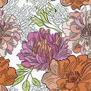verano 20 servilletas de p/ájaros y flores en la valla 33 x 33 cm primavera animales