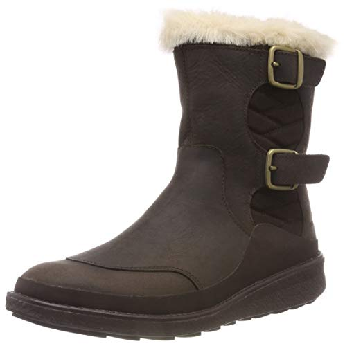 Merrell womens Tremblant Ezra Buckle Polar Waterproof Hiking Boot, Espresso, 9 US