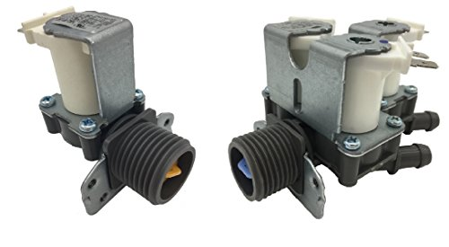 OEM Mania New 5220FR2006H & 5221ER1003A Authorized factory OEM Compatible/Replacement Part for Washer Water Inlet Valve Set