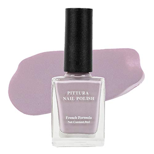 MINISO Pittura Nail Polishes Long Lasting Nail Paint (07 Gray Violet)