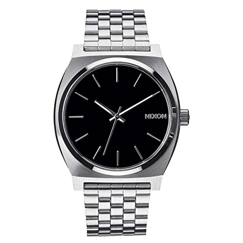 Nixon Reloj Analógico de Cuarzo para Hombre con Correa de Acero Inoxidable – A045-000_Gray