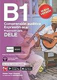 DELE B1 Preparación. Comprensión auditiva y Expresión oral. BLANCO Y NEGRO: Audio descargable + Claves y transcripciones