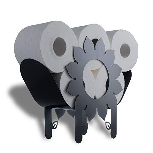 WRPS Design Toilettenpapier-Halter Flower Power Design-Blume