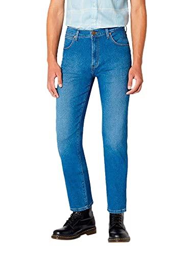 Wrangler Arizona Straight Jeans, Blu (Bright Sphere 845), 32W / 34L Uomo