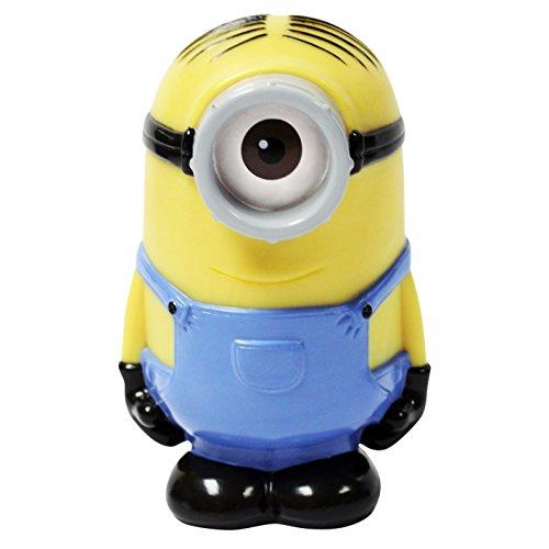 Illumi-Mates Minions Oficial - Lampara infantil que cambia de color diseño Stuart para niños/as (Talla Única) (Amarillo/Azul)