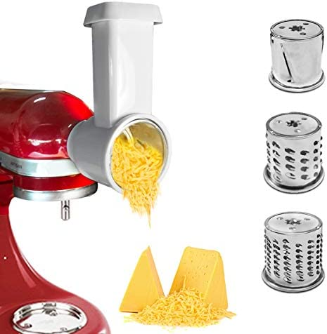 Slicer Shredder Attachment for KitchenAid Stand Mixer Cheese Grater Attachment Vegetable Chopper product image
