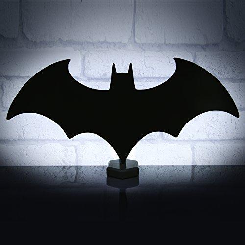 Batman Logo Dekolampe - Dekolicht Nachtlicht Feldermaus Dekoleuchte - Standlicht