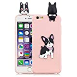 Compatible with iPhone 6 Plus Case,LAXIN Cute 3D Cartoon Pattern Cute Animal Case Soft Silicone Case Girls Boys Fun Special Phone Case Shockproof Case for iPhone 6s Plus - Cute Dog