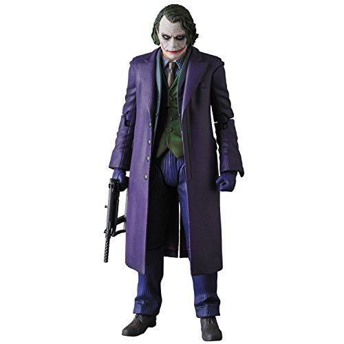 MAFEX マフェックス No.51 THE DARK KNIGHT THE JOKER Ver.2.0 全高約160mm ABS & ATBC-PVC製 塗装済み アクションフィギュア 再販