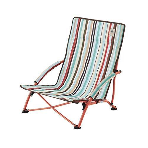 Decorative stool CSQ-Portable Chaise de Jardin Portable. Chaise Pliante extérieure Chaise de Plage Chaise de Camping Chaise de Barbecue Chaise de Voyage Chaise Pliante Pliable (Color : B)