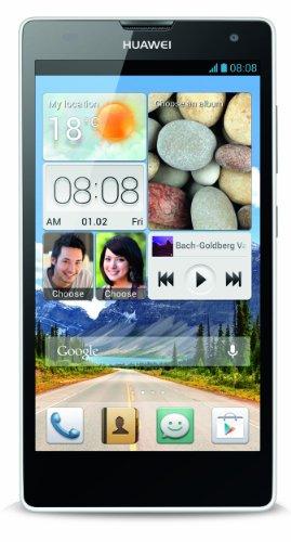 Huawei Ascend G740 Smartphone (12,7 cm (5 Zoll) Bildschirm, 8 Megapixel Kamera, 8 GB Interner Speicher, Android 4.1) weiß