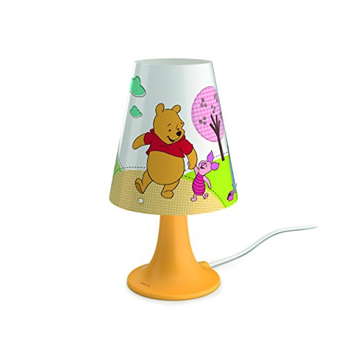 Philips LED Bedside Lamp, Avengers Design Winnie The Pooh Jaune/Rouge