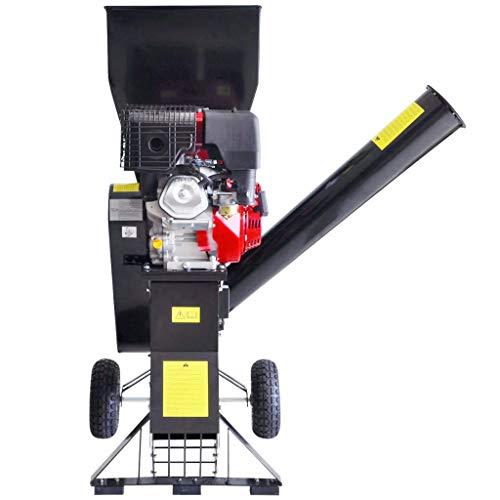 Trituradora de madera de gasolina con motor de 15 CV profesional