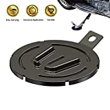 Motorcycle Kickstand Pad,Stainessless Motorcycle Parking Stand...