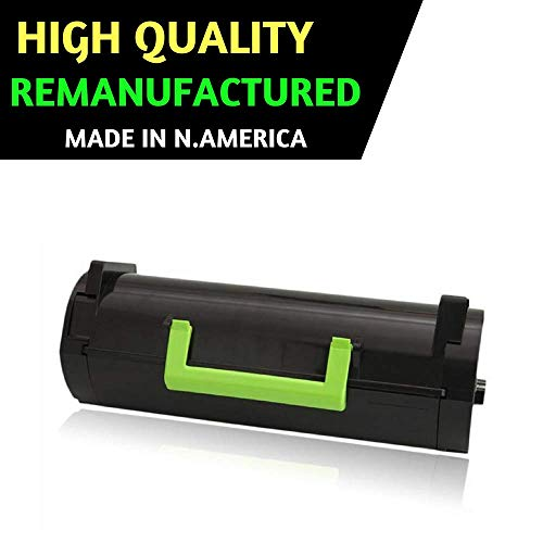 Best Toner Remanufactured Replacement for Lexmark 50F1U00 501U Ultra High Yield Toner Cartridge for MS510 Series,MS510dn,MS610 Series (20,000) Pages