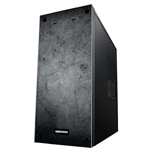 MEDION P66089 Desktop Computer (Intel Core i5-10400, 8GB DDR4 RAM, 512GB SSD, GeForce GTX 1650, WLAN, Win 10 Home)
