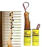 Stingmon 32pcs Moscas de Frutas Adhesivas de Papel para atrapar Moscas Moscas Mosquitos (amarillo-40p)