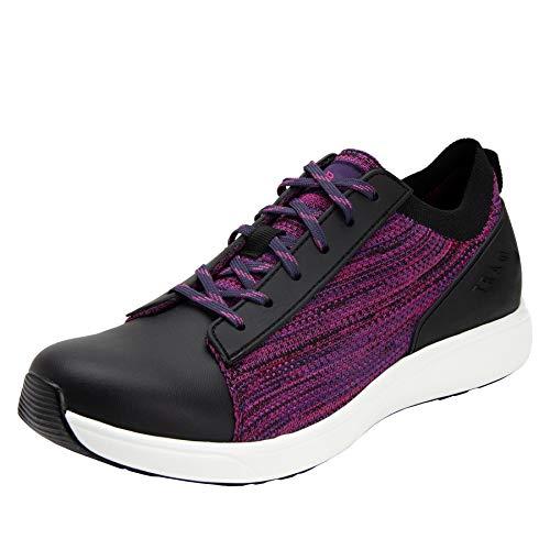 Alegria TRAQ Qest Womens Smart Walking Shoe Multiplex Magenta 8 M US