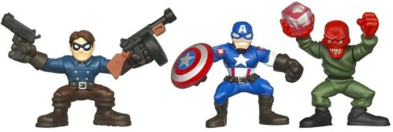 Captain America The First Avenger Super Hero Squad Battle at Red Skull Lair
