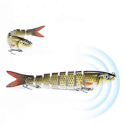 Nicole Knupfer Lot de 6 appâts souples pour pêche à...