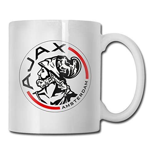 Shenhui AFC Ajax Amsterdam Club Socce beker - Have A Coffee   Koffiebeker   Cadeaumok - Keramiek 9 Cm / 330 Ml