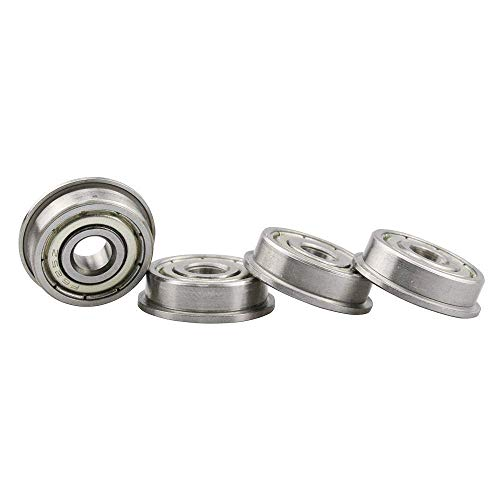 Durable F625-2Z F625zz Flanged Flange Deep Groove Ball Bearings 5 x 16 x 5mm for 3D Printer 3D Printer Parts