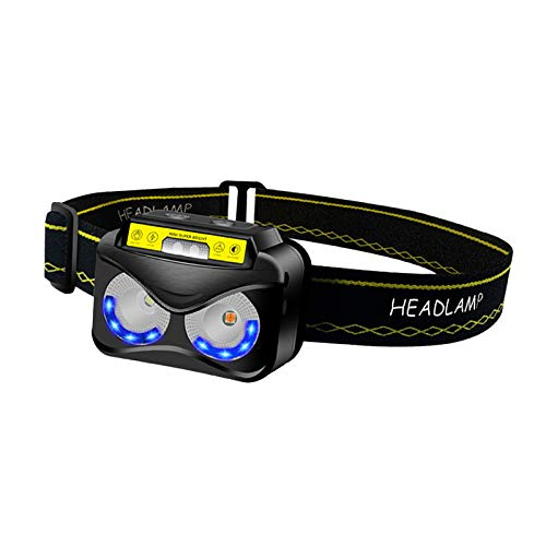 Generic USB Rechargeable Headlamp Flashlight Head Band Outdoor Lamp Camping