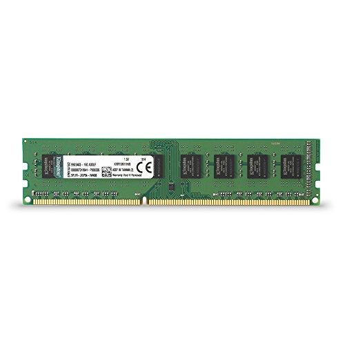 Kingston ValueRAM 8GB 1600MHz DDR3 Non - ECC CL11 DIMM STD Height 30mm Desktop Memory KVR16N11H/8