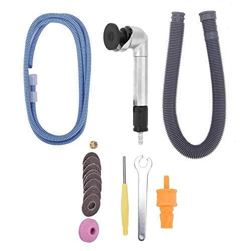 WEI-LUONG 工具 空気圧研削ペン、23500rpmベンドミニエアーマイクログラインダーハンド研削ペン空気圧研削工具をダイ 研磨用