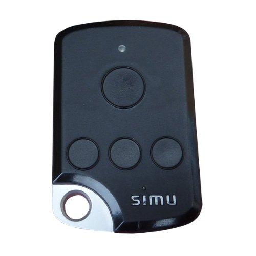 Simu TSA+ 4 Kanal Fernbedienung für SA HZ und RSA HZ Rolltorsteuerung mit Wandhalterung