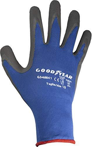 guanti lavoro goodyear Goodyear Guanti in Nylon E Schiuma di Lattice Tg.10
