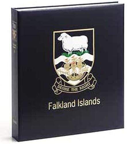 DAVO 3932 Luxus Briefmarken-Album Falkland Isl. II 1996-2012