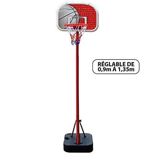 Canasta de baloncesto - Atlanta, para niños ajustable hasta 1m35 ...