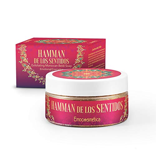 Marokkanische Beldi Peeling-Seife - Hamman de los Sentidos 100ml