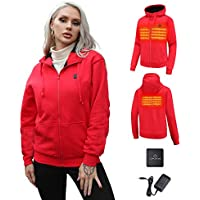 Topleads Far-Infrared Heating Jacket with Battery