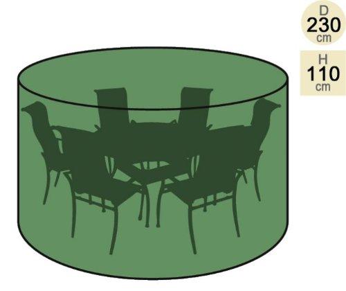 Primrose Copertura tavola Rotonda con 6 sedie - Premium