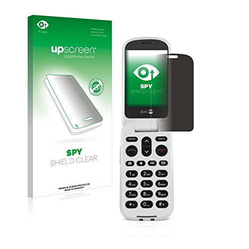 upscreen Anti-Spy Blickschutzfolie kompatibel mit Doro 6050 Privacy Screen Sichtschutz Bildschirmschutz-Folie
