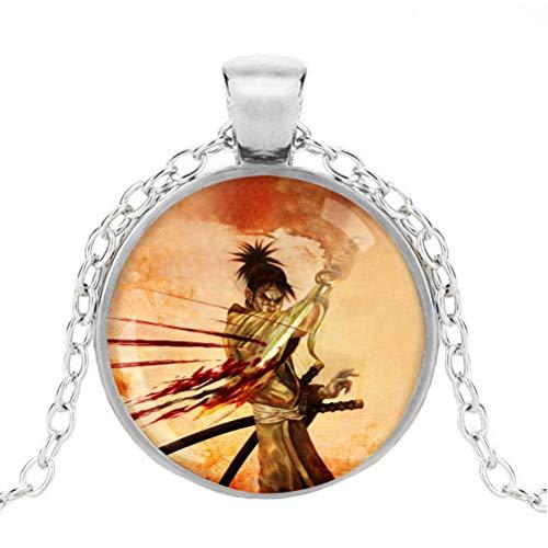 IJHDUIKO Blade of The Immortal Zubehör Halskette Licht Luxus Halskette Unisex Frauen und Männer Trend Design Halskette für Jungen und Mädchen Dekorative Halskette (Color : A03, Size : OneSize)