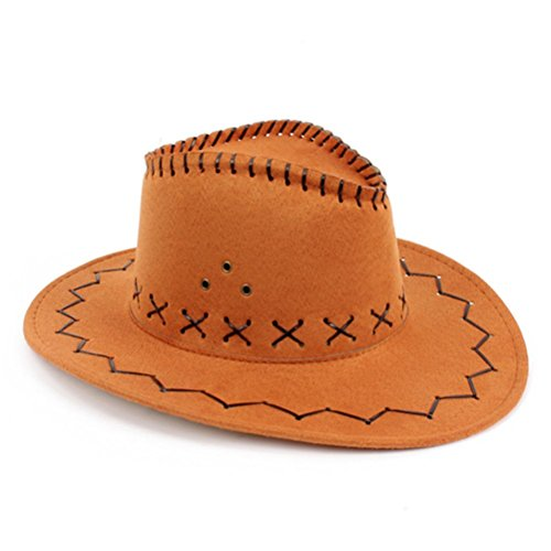 Chapeau de cow-boy HMILYDYK - Pour déguisement