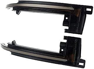 AQIMY Side Wing Mirror Indicator Dynamic Turn Signal Light for Audi A4 S4 B8 2008-2012 A5 S5 A8 S8 D3 A3 S3 8P A6 S6 RS6 C6 Q3 RS Q3 8U