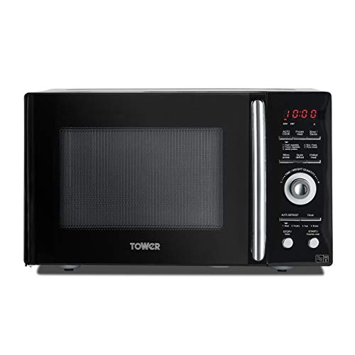 41PMQxGiEPL. SS500  - Tower KOR9GQRT Digital Microwave with 5 Pre-set Autocook Functions, Defrost Function, 900 W, 26 Litre Black
