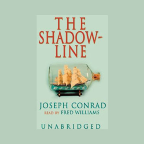 The Shadow-Line audiobook cover art