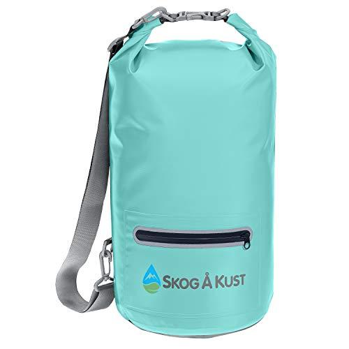 Skog Å Kust DrySak Waterproof Dry Bag |10 Liter, Mint