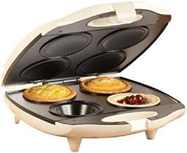 Sensio Bella 13563 4 Slot Pie Maker, Almond