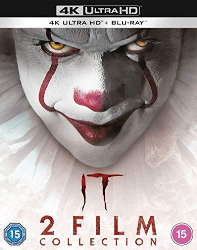 IT 2-Film Collection [2017 & 2019] [4K Ultra HD] [2017] [Blu-ray] [Region Free]