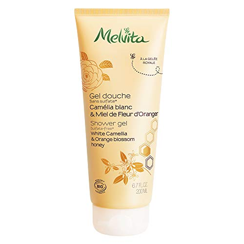 Melvita Gel Douche Camélia Blanc & Miel de Fleur d'Oranger 200 ml