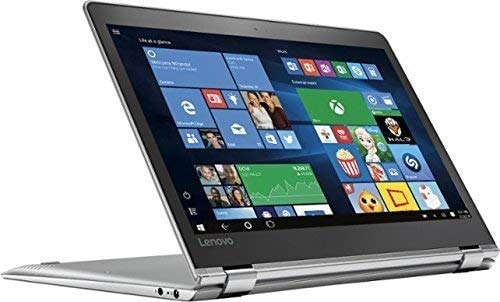 """Lenovo - Yoga 710 2-in-1 80V6000PUS 11.6"""" Touch-Screen Laptop - Intel 7th Generation Core i5-7Y54-8GB Memory - 128GB Solid State Drive - Silver (Renewed)"""